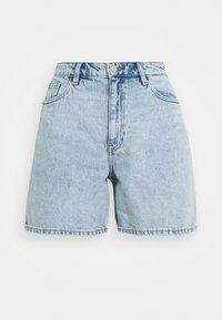 Monki - Jeans Short / cowboy shorts - blue dusty light/light blue - 4