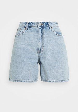 EMMA  - Jeans Short / cowboy shorts - blue dusty light/light blue