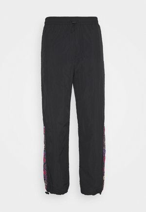 CRINKLE  - Tracksuit bottoms - nero