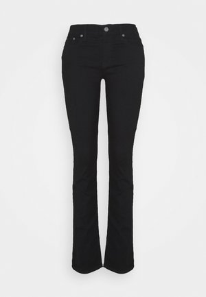 Jeansy Straight Leg - basic black