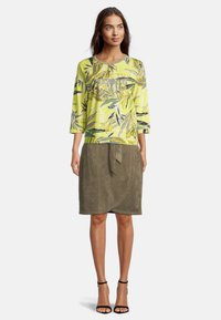 Betty Barclay - Long sleeved top - green/yellow - 1
