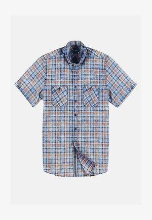 KARIERT - Shirt - blue