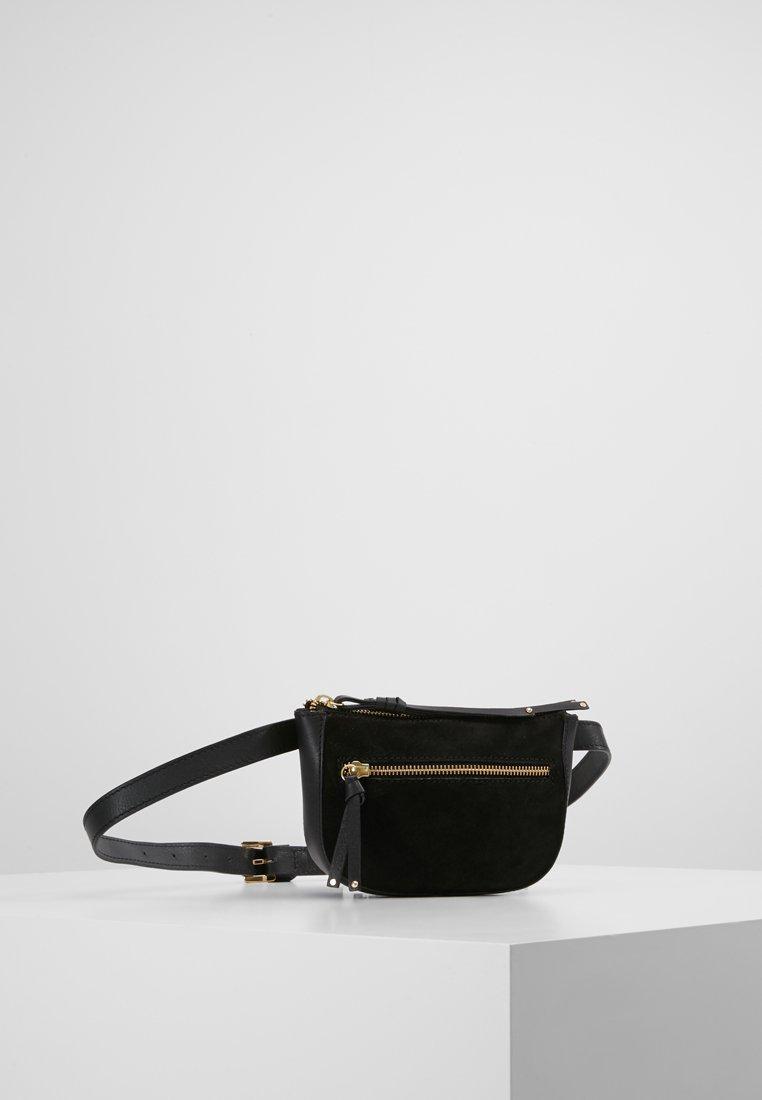 mint&berry - LEATHER - Bum bag - black