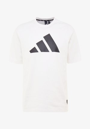 MUST HAVE ATHLETICS SHORT SLEEVE TEE - T-shirts med print - white/black