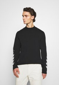 Hummel Hive - SUBURB UNISEX - Long sleeved top - black - 0