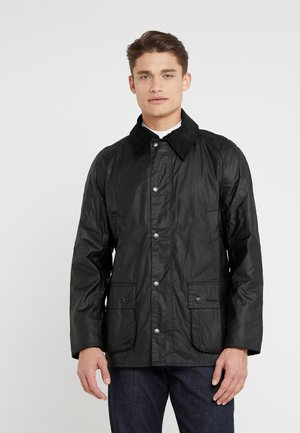 ASHBY WAX JACKET - Summer jacket - black