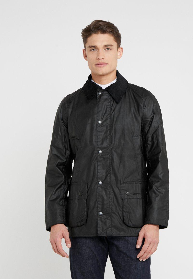 Barbour - ASHBY WAX JACKET - Summer jacket - black