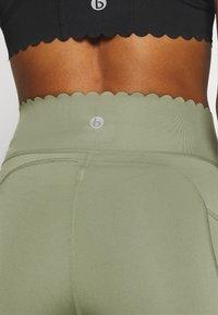 Cotton On Body - SCALLOP HEM BIKE - Medias - basil green - 5