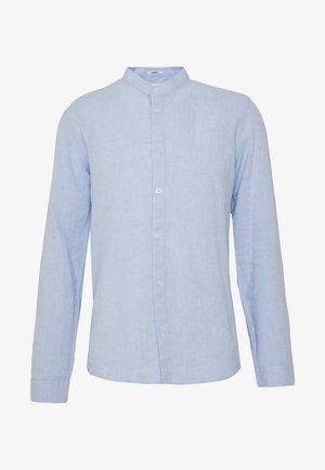 MANDARIN COLLAR SHIRT  - Shirt - light blue