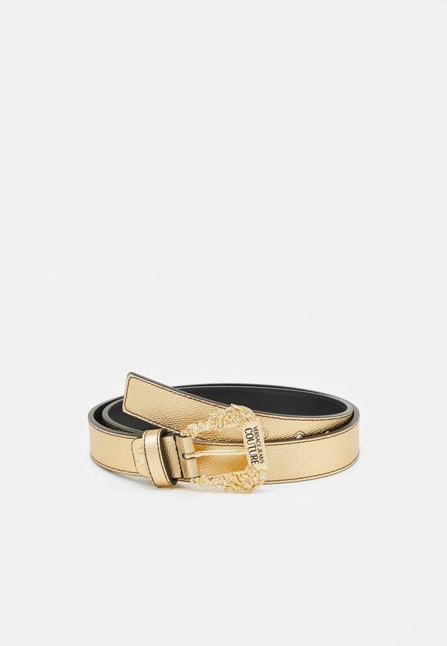 BAROQUE BUCKLE - Cinturón - oro