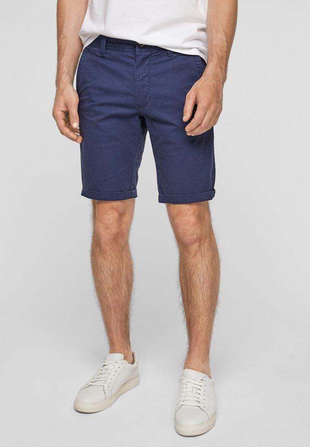 Shorts - blue aop