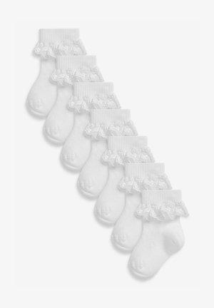 7 PACK  - Sokken - white