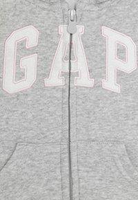 GAP - TODDLER GIRL LOGO - Sweatjakke - heather grey - 2