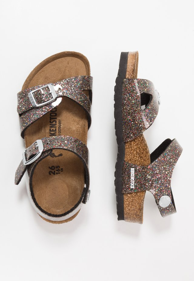 RIO - Sandals - black/multicolor