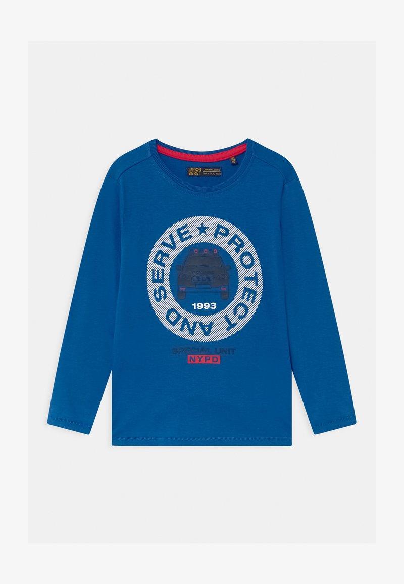 Lemon Beret - BOYS - Long sleeved top - true blue