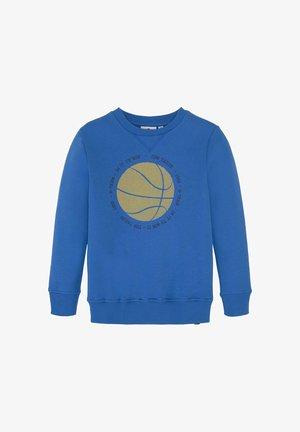 MIT BASKETBALLMOTIV - Sweatshirt - strong blue|blue