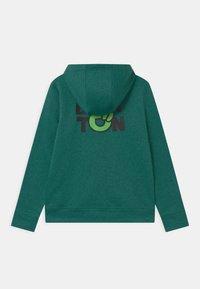 Burton - KIDS OAK FULL-ZIP HOODIE UNISEX - Mikina na zip - antique green heather - 1