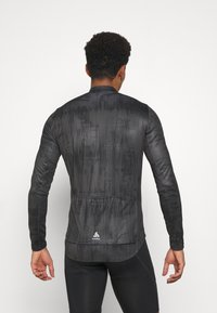 ODLO - MIDLAYER FULL ZIP ZEROWEIGHT CERAMIWARM - Sports shirt - graphite grey/black - 2