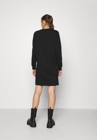 Calvin Klein - LOGO DRESS - Day dress - black - 2