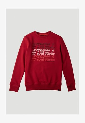 ALL YEAR CREW - Sweater - haute red