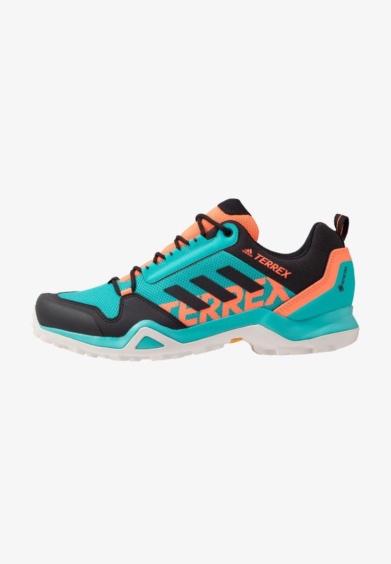 adidas Performance - TERREX AX3 GTX - Hiking shoes - hi-res aqua/core black/grey one