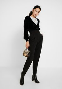 Object Tall - OBJCASRA CARDIGAN - Kofta - black - 1