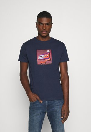 PHOTO TEE - Triko s potiskem - twilight navy
