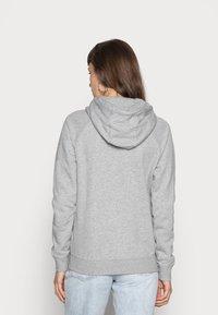 Nike Sportswear - HOODIE - Mikina skapucí - dark grey heather/white - 2