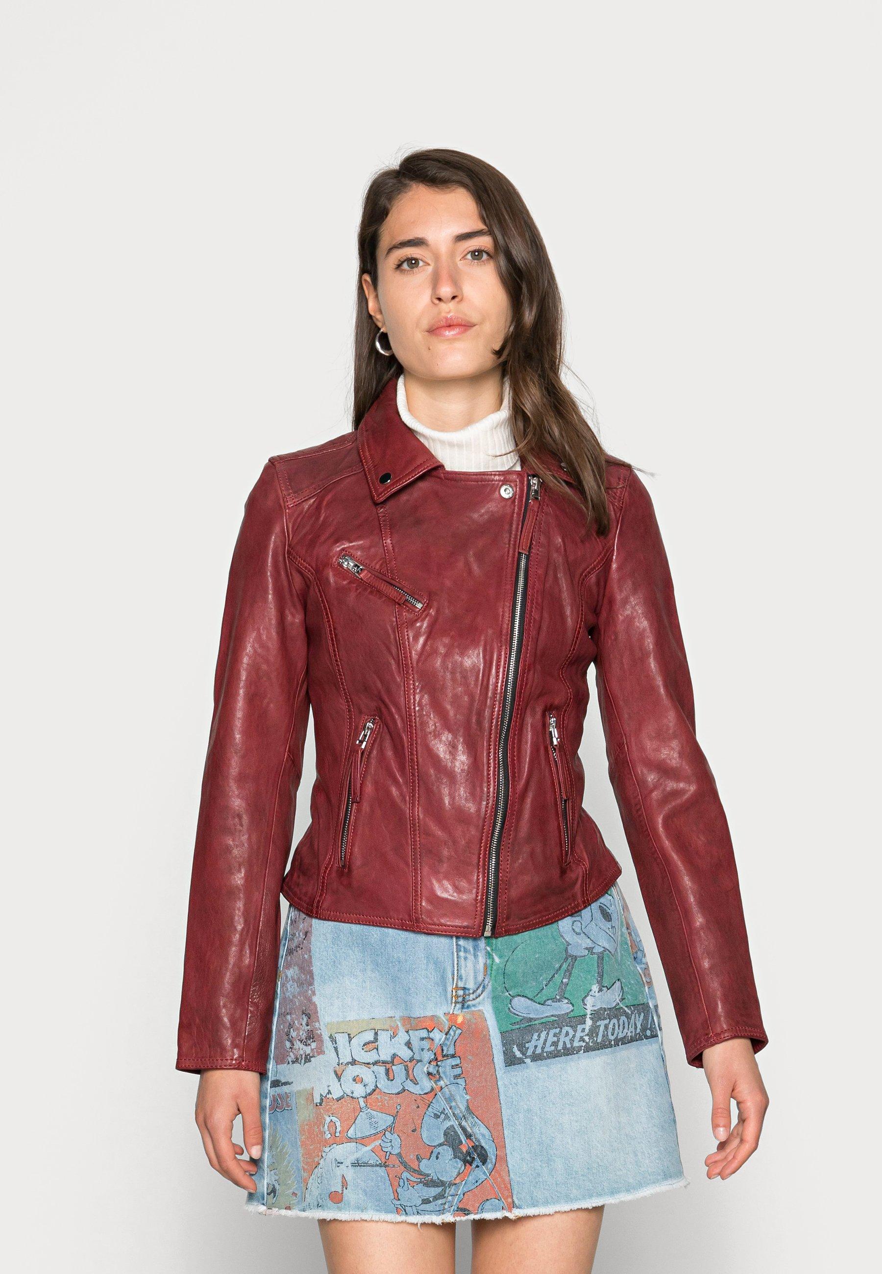 Femme CLIPS - Veste en cuir