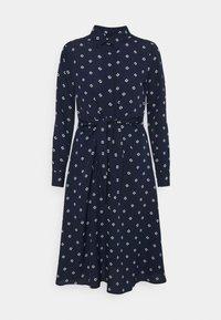 Lauren Ralph Lauren Petite - KAHWELL LONG SLEEVE CASUAL DRESS - Shirt dress - french navy/pale cream - 0