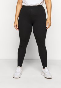 Dorothy Perkins Curve - 2 PACK  - Leggings - Trousers - black - 1