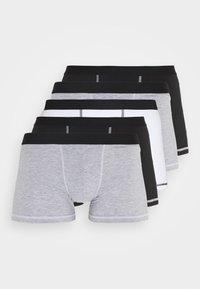 Pier One - 5 Pack - Panties - black/mottled grey - 0