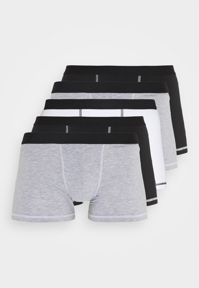 5 Pack - Shorty - black/mottled grey