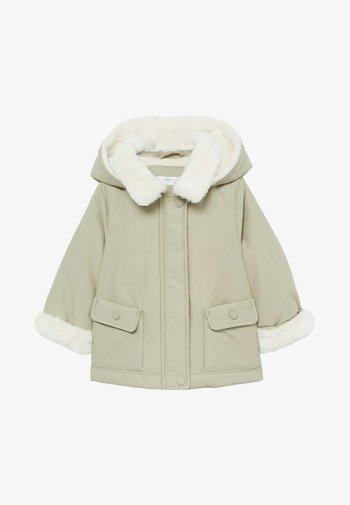 VICTORIA - Winter coat - aqua green