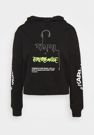TOKIMONSTA HOODIE - Sweatshirt - black
