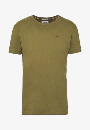 ESSENTIAL SOLID TEE - Basic T-shirt - uniform olive