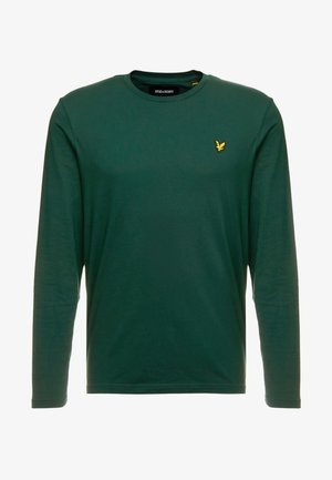 CREW NECK PLAIN - Long sleeved top - jade green