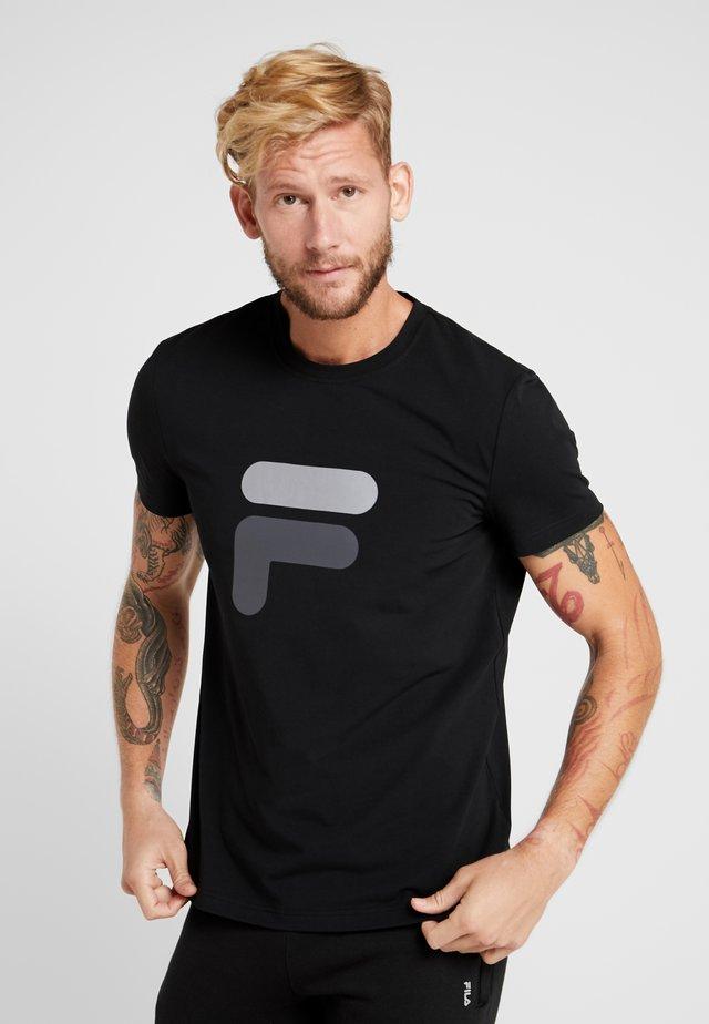 ROBIN - T-shirt print - black