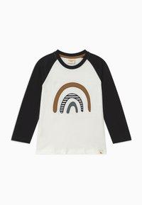 Turtledove - RAGLAN RAINBOW APPLIQUE - T-shirt à manches longues - black - 0
