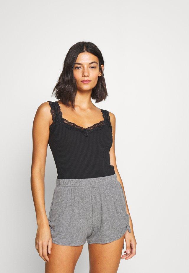 CAMI DIANA - Unterhemd/-shirt - black