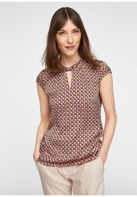 comma - Blouse - red/black - 0