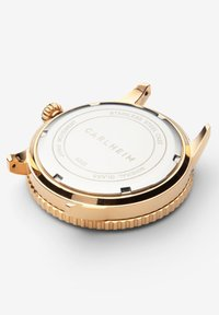 Carlheim - DIVER 40MM LINK - Montre - rose gold-green - 3