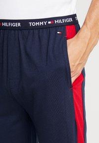 Tommy Hilfiger - PANEL PANT - Pyjama bottoms - blue - 4