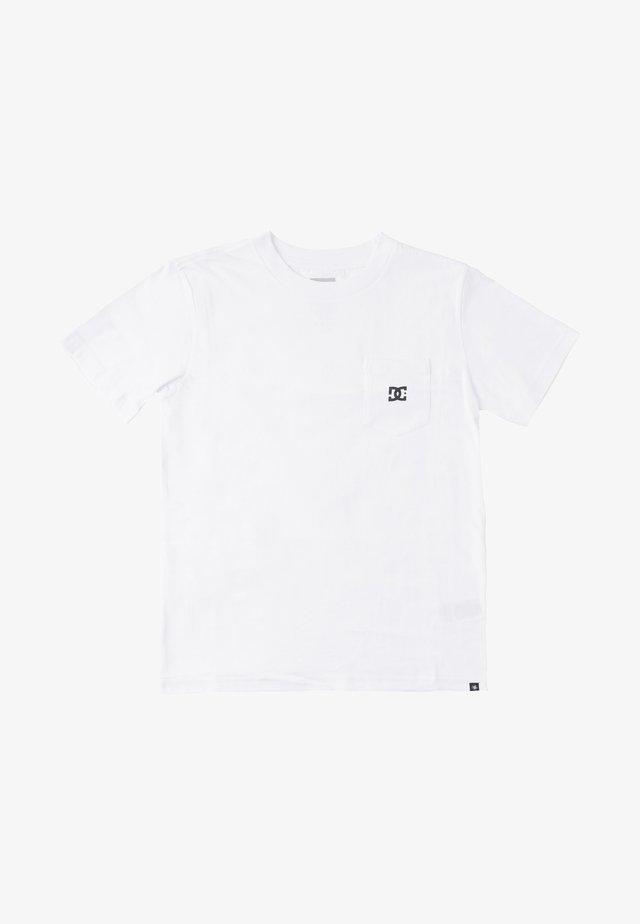 STAR POCKET  - T-shirt basic - white