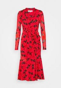 Diane von Furstenberg - CRYSTAL - Vapaa-ajan mekko - red - 4