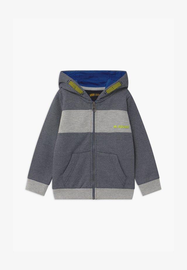SMALL BOYS - veste en sweat zippée - grey melange