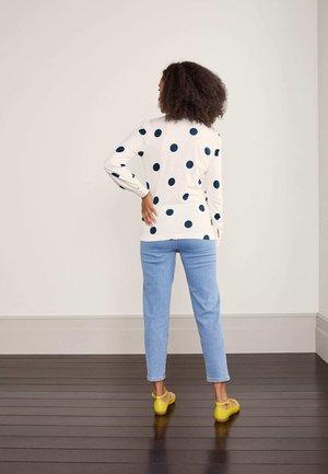 GABRIELLA  - Button-down blouse - naturweiß, getupft