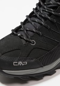 CMP - RIGEL MID TREKKING SHOES WP - Hiking shoes - nero/grey - 5