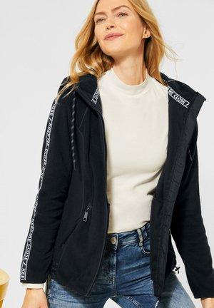Fleece jacket - schwarz