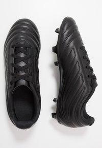 adidas Performance - COPA 20.4 FG - Korki Lanki - core black/solid grey - 0
